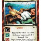 7TH SEA Quick Tack Cannon Attack Action Collectible Gaming Card