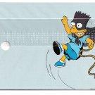 SIMPSONS BARTMAN vs RADIOACTIVE MAN Collectible Spinner Card SEALED