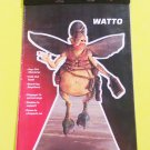 "STAR WARS WATTO Die-Cut Pop-Out Stand-Up Character w/ Easel 10"" High"