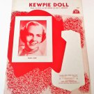KEWPIE DOLL Piano/Vocal/Guitar Sheet Music JOAN CASE © 1958