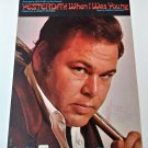 YESTERDAY WHEN I WAS YOUNG Piano/Voice/Guitar Sheet Music ROY CLARK COVER © 1966