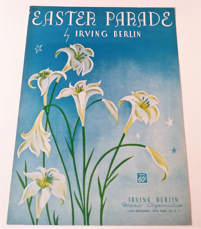 EASTER PARADE Piano/Vocal/Guitar Sheet Music IRVING BERLIN © 1933