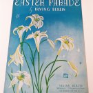 EASTER PARADE Piano/Vocal/Guitar Sheet Music IRVING BERLIN © 1933