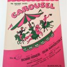 YOU'LL NEVER WALK ALONE Piano/Vocal Sheet Music RODGERS & HAMMERSTEIN CAROUSEL
