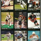 SI SPORTS ILLUSTRATED FOR KIDS Sheet of 9 Trading Cards #19 to #27 JAROMIR JAGR