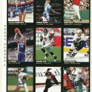 SI SPORTS ILLUSTRATED FOR KIDS Sheet of 9 Trading Cards #28 to #36 MICHAEL VICK