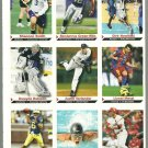 SI SPORTS ILLUSTRATED FOR KIDS Sheet of 9 Trading Cards #46 to #54 LIONEL MESSI