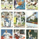 SI SPORTS ILLUSTRATED FOR KIDS Sheet of 9 Trading Cards #55 to #63 ERIC STAAL
