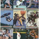 SI SPORTS ILLUSTRATED FOR KIDS Sheet of 9 Trading Cards #55 to #63 KOBE BRYANT