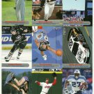 SI SPORTS ILLUSTRATED FOR KIDS Sheet of 9 Trading Cards #73 to #81 BARRY BONDS