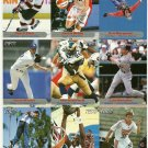 SI SPORTS ILLUSTRATED FOR KIDS Sheet of 9 Trading Cards #82 to #90 KEVIN BROWN