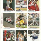 SI SPORTS ILLUSTRATED FOR KIDS Sheet of 9 Trading Cards #82 to #90 TRACY McGRADY