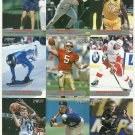 "SI SPORTS ILLUSTRATED FOR KIDS Sheet of 9 Trading Cards #91 to #99 SHAQUILLE O""NEAL"