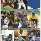 SI SPORTS ILLUSTRATED FOR KIDS Sheet of 9 Trading Cards #100-108 LANCE ARMSTRONG