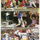 SI SPORTS ILLUSTRATED FOR KIDS Sheet of 9 Trading Cards #244-252 SHERYL SWOOPES