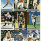 SI SPORTS ILLUSTRATED FOR KIDS Sheet of 9 Trading Cards #262-270 LEBRON JAMES