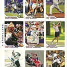 SI SPORTS ILLUSTRATED FOR KIDS Sheet of 9 Trading Cards #280-288 SCOTT DIXON