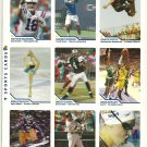 SI SPORTS ILLUSTRATED FOR KIDS Sheet 9 3-D Trading Cards #307-315 PEYTON MANNING