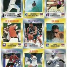 SI SPORTS ILLUSTRATED FOR KIDS Sheet of 9 Trading Cards #325-333 JULIE FOUDY