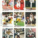 SI SPORTS ILLUSTRATED FOR KIDS Sheet 9 Trading Cards #352-360 SHELLY-ANN FRASER