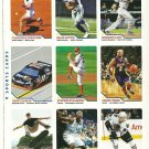 SI SPORTS ILLUSTRATED FOR KIDS Sheet 9 Trading Cards #487-495 PATRICK KANE