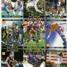 SI SPORTS ILLUSTRATED FOR KIDS Sheet 9 Trading Cards #748-756 STEVE YOUNG