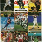 SI SPORTS ILLUSTRATED FOR KIDS Sheet 9 Trading Cards #793-801 EMMITT SMITH