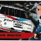 MARK MARTIN '95 Prototype Optima XL 3/3 Promo Card NASCAR