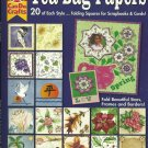 TEA-BAG PAPERS - 320 Folding Squares for Scrapbooks & Cards - UNCUT!