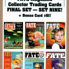 FATE MAGAZINE Collector Trading Cards - 6 Card Perforated Sheet #9 1998 - UNCUT