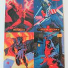MARVEL MASTERPIECES Large-Size Double-Sided Promo Trading Card © 1994