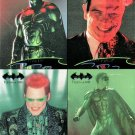 BATMAN FOREVER Large-Size Double-Sided Promo Trading Card © 1995