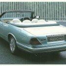1996 Daimler Corsica Concept Coupe Prototype Unposted Postcard © 1999