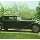 1928 Bugatti Royale Coupe Unposted Postcard © 1970