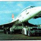 British Airways BAC/Aérospatiale Concorde G-BOAA Unposted Postcard