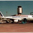 Air Inter Europe Airbus A320 F-GHQH Unposted Postcard