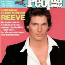 PEOPLE WEEKLY MAGAZINE July 6, 1981 SUPERMAN CHRISTOPHER REEVE