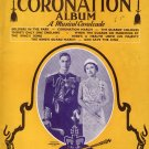 CHAPPELL'S CORONATION ALBUM - A Musical Cavalcade Song Book ca 1937