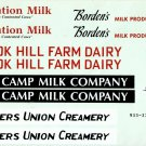 DECAL SHEET for Walthers O Scale 933-3305 Brook Hill Dairy Farm Building Kit