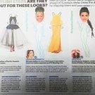 BRIE LARSON Lupita Nyong'o PRIYANKA CHOPRA Newspaper Paper Dolls