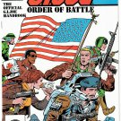 THE G.I. JOE ORDER OF BATTLE Comic Handbook No. 1 December 1986 NEW UNREAD COPY!