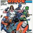 THE G.I. JOE ORDER OF BATTLE Comic Handbook No. 3 February 1987 NEW UNREAD COPY!