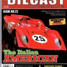 THE DIECAST MAGAZINE #22 December 2013 Golden Age Sports Cars by CMC and AUTOart