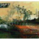 PURSUIT FORCE COMPUTER GAME Lenticular Postcard © 2006