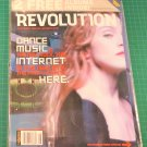 REVOLUTION MAGAZINE August 2000 MADONNA COVER 2 CD's ABSOLUT AD New Sealed Copy