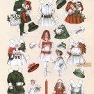 BETTY BONNET SHOPS EARLY Magazine Paper Dolls REPRODUCTION