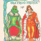 THE FROG PRINCE Magazine Paper Dolls by Pat Frey © 1981 - 3 PAGES UNCUT!