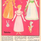 TABITHA Magazine Paper Dolls © 1985 UNCUT!