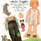 JACKIE COOGAN Magazine Paper Dolls by Karen Reilly 2 PAGES UNCUT!
