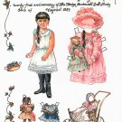 OUR LITTLE GLADYS Magazine Paper Dolls by Virginia O'Rourke 2 PAGES UNCUT!